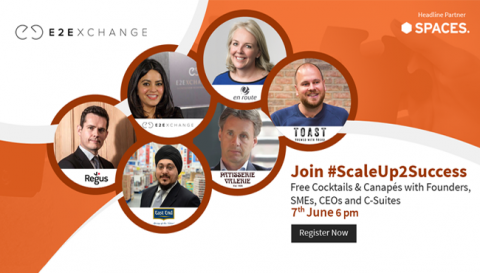 E2E #ScaleUp2Success Series w/ East End Foods, Patisserie Valerie, En Route and Toast Ale