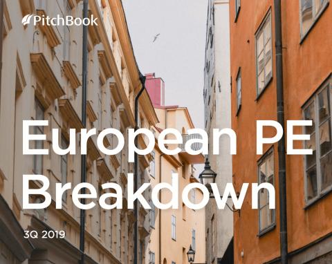 European PE Breakdown 3Q